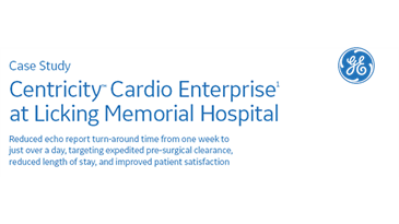 Centricity Cardio Enterprise at Licking Memorial Hospital Case Study